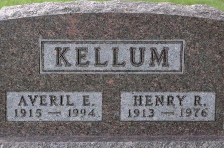 KELLUM, AVERIL E. - Grundy County, Iowa   AVERIL E. KELLUM