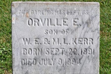 KERR, ORVILLE E. - Grundy County, Iowa   ORVILLE E. KERR