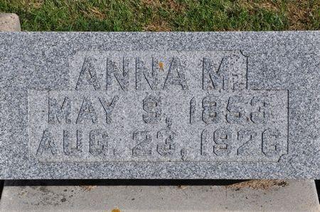 KIEWIET, ANNA M. - Grundy County, Iowa | ANNA M. KIEWIET