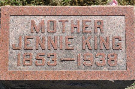 KING, JENNIE - Grundy County, Iowa | JENNIE KING