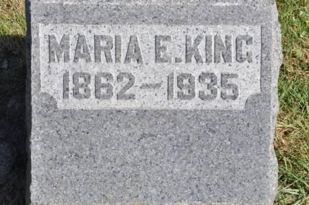 KING, MARIA E. - Grundy County, Iowa | MARIA E. KING