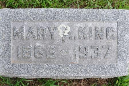KING, MARY A. - Grundy County, Iowa | MARY A. KING