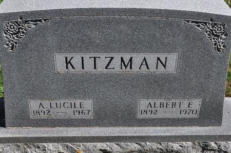 KITZMAN, A. LUCILE - Grundy County, Iowa | A. LUCILE KITZMAN