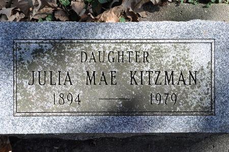 KITZMAN, JULIA MAE - Grundy County, Iowa | JULIA MAE KITZMAN