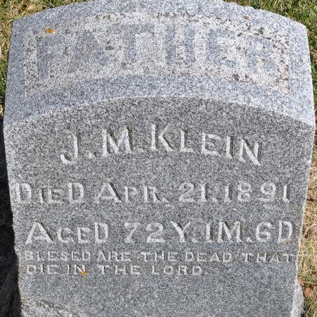 KLEIN, J. M. - Grundy County, Iowa | J. M. KLEIN