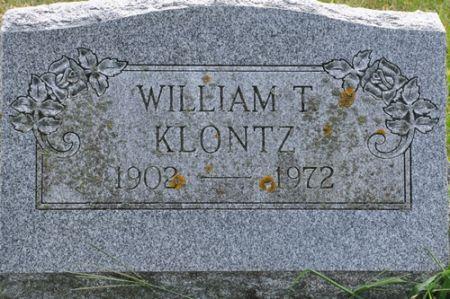 KLONTZ, WILLIAM T. - Grundy County, Iowa | WILLIAM T. KLONTZ