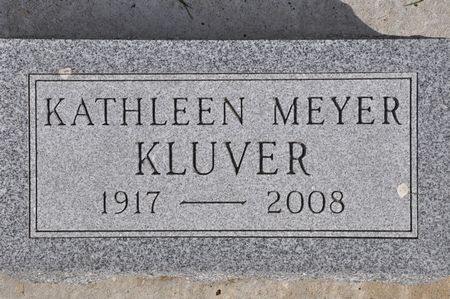 KLUVER, KATHLEEN (MEYER) - Grundy County, Iowa | KATHLEEN (MEYER) KLUVER