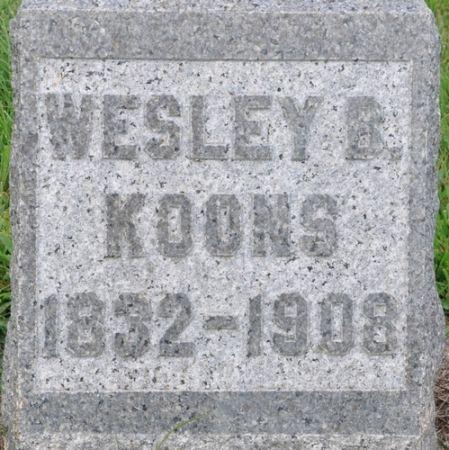 KOONS, WESLEY B. - Grundy County, Iowa | WESLEY B. KOONS