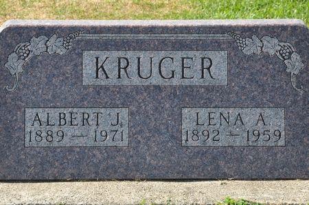 KRUGER, ALBERT J. - Grundy County, Iowa | ALBERT J. KRUGER