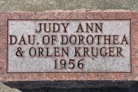 KRUGER, JUDY ANN - Grundy County, Iowa | JUDY ANN KRUGER