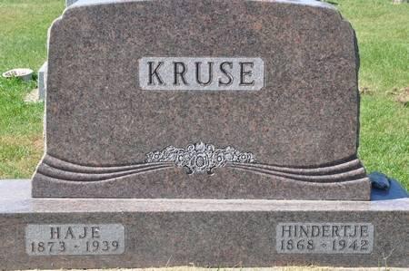 KRUSE, HINDERTJE - Grundy County, Iowa | HINDERTJE KRUSE
