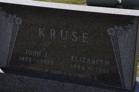 KRUSE, JOHN J. - Grundy County, Iowa   JOHN J. KRUSE