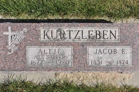 KURTZLEBEN, JACOB E. - Grundy County, Iowa | JACOB E. KURTZLEBEN