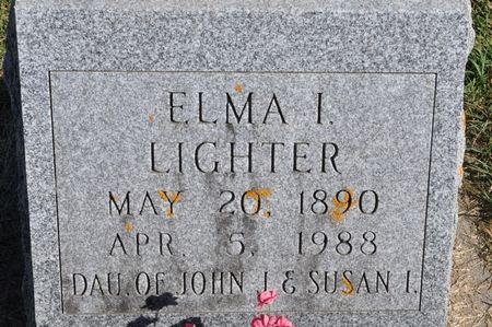 LIGHTER, ELMA I. - Grundy County, Iowa | ELMA I. LIGHTER