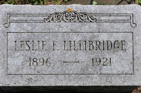 LILLIBRIDGE, LESLIE F. - Grundy County, Iowa | LESLIE F. LILLIBRIDGE