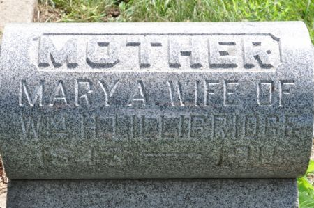 LILLIBRIDGE, MARY A. - Grundy County, Iowa | MARY A. LILLIBRIDGE