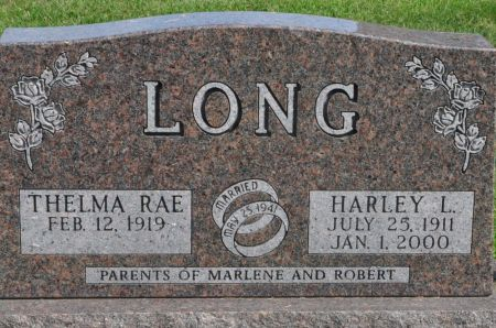 LONG, HARLEY L. - Grundy County, Iowa | HARLEY L. LONG