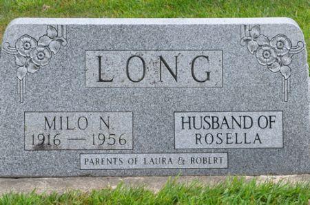 LONG, MILO N. - Grundy County, Iowa | MILO N. LONG