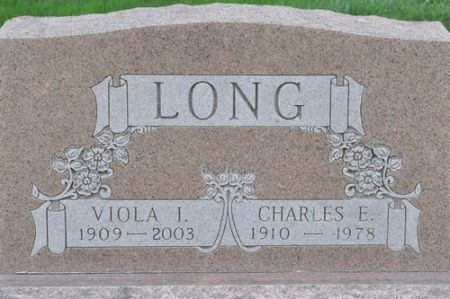 LONG, VIOLA I. - Grundy County, Iowa   VIOLA I. LONG