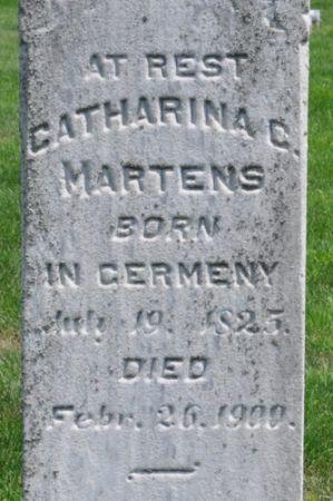 MARTENS, CATHARINA C. - Grundy County, Iowa | CATHARINA C. MARTENS