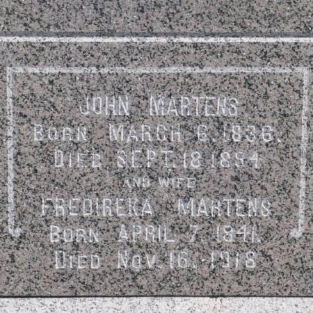 MARTENS, JOHN - Grundy County, Iowa | JOHN MARTENS