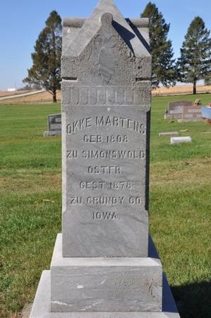 MARTENS, OKKE - Grundy County, Iowa | OKKE MARTENS