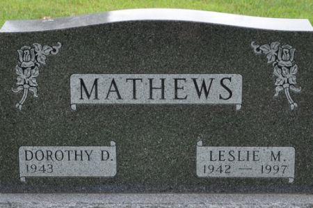 MATHEWS, LESLIE M. - Grundy County, Iowa   LESLIE M. MATHEWS