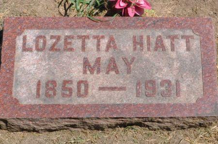 MAY, LOZETTA (HIATT) - Grundy County, Iowa | LOZETTA (HIATT) MAY