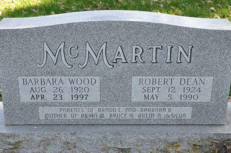 MCMARTIN, ROBERT DEAN - Grundy County, Iowa   ROBERT DEAN MCMARTIN