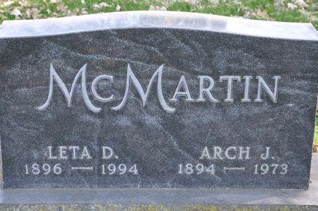 MCMARTIN, LETA D. - Grundy County, Iowa | LETA D. MCMARTIN