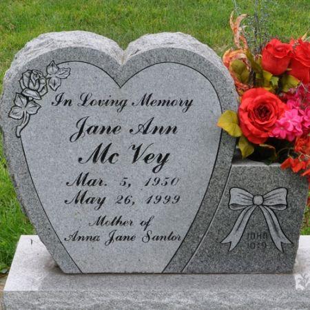MCVEY, JANE ANN - Grundy County, Iowa | JANE ANN MCVEY