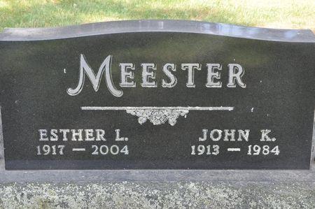 MEESTER, JOHN K. - Grundy County, Iowa | JOHN K. MEESTER