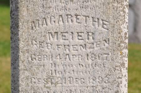 MEIER, MARGARETHA - Grundy County, Iowa | MARGARETHA MEIER