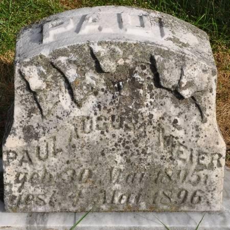 MEIER, PAUL AUGUST - Grundy County, Iowa | PAUL AUGUST MEIER