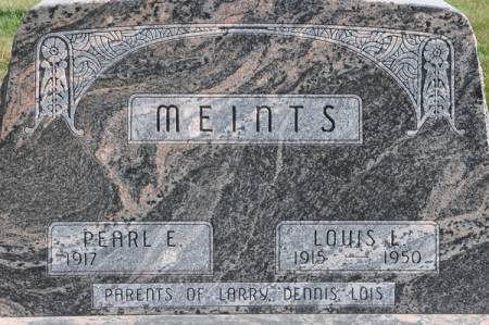 MEINTS, LOUIS L. - Grundy County, Iowa | LOUIS L. MEINTS