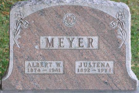 MEYER, ALBERT W. - Grundy County, Iowa   ALBERT W. MEYER
