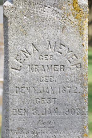 MEYER, LENA (KRAMER) - Grundy County, Iowa | LENA (KRAMER) MEYER