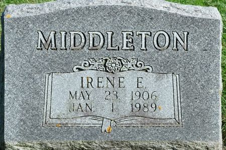 MIDDLETON, IRENE E. - Grundy County, Iowa | IRENE E. MIDDLETON