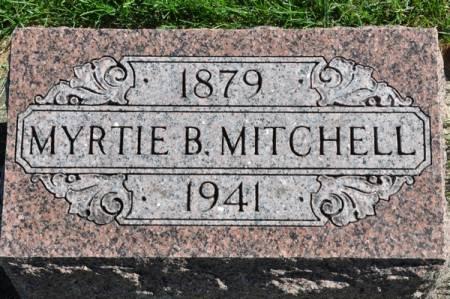 MITCHELL, MYRTIE B. - Grundy County, Iowa   MYRTIE B. MITCHELL