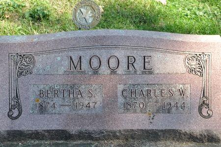 MOORE, BERTHA S. - Grundy County, Iowa | BERTHA S. MOORE