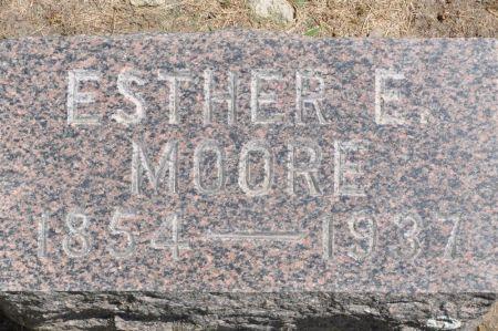 MOORE, ESTHER E. - Grundy County, Iowa | ESTHER E. MOORE