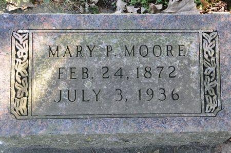 MOORE, MARY P. - Grundy County, Iowa | MARY P. MOORE