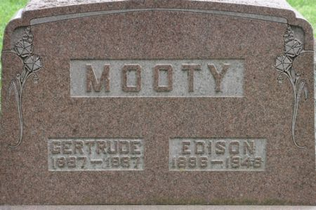 MOOTY, GERTRUDE - Grundy County, Iowa | GERTRUDE MOOTY
