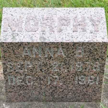 MORPHY, ANNA B. - Grundy County, Iowa | ANNA B. MORPHY