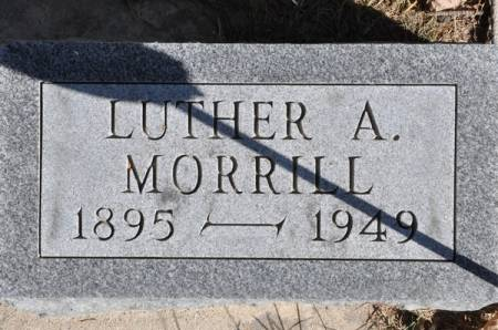 MORRILL, LUTHER A. - Grundy County, Iowa | LUTHER A. MORRILL