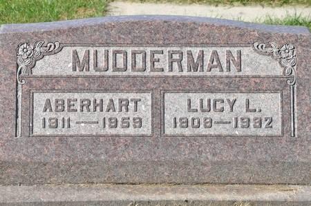 MUDDERMAN, LUCY L. - Grundy County, Iowa   LUCY L. MUDDERMAN
