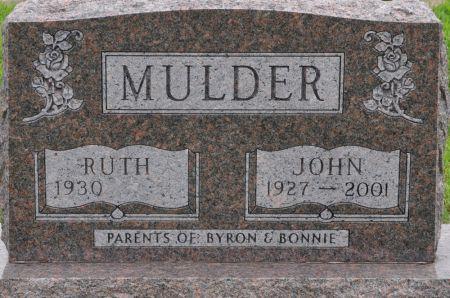 MULDER, JOHN - Grundy County, Iowa   JOHN MULDER