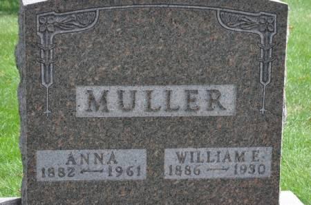 MULLER, WILLIAM E. - Grundy County, Iowa | WILLIAM E. MULLER