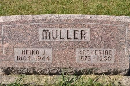 MULLER, HEIKO J. - Grundy County, Iowa | HEIKO J. MULLER