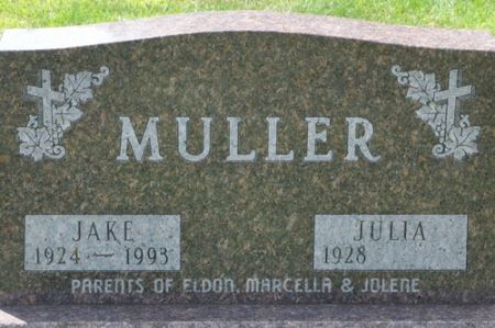 MULLER, JAKE - Grundy County, Iowa | JAKE MULLER
